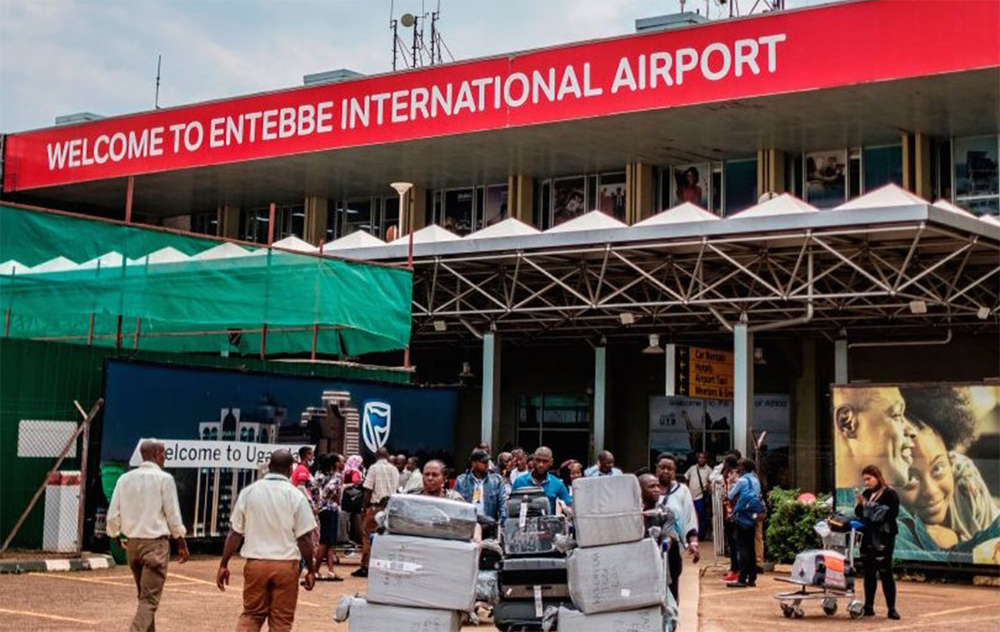 Entebbe International Airport and land borders re-opened